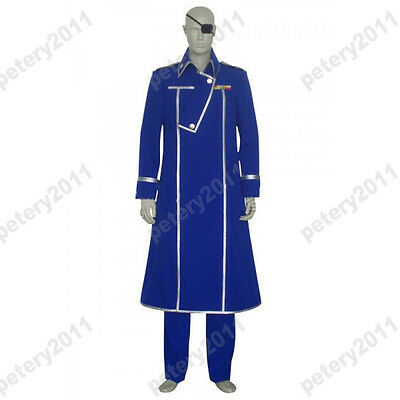 King Bradley Cosplay Costume from FullMetal Alchemist Custom-made