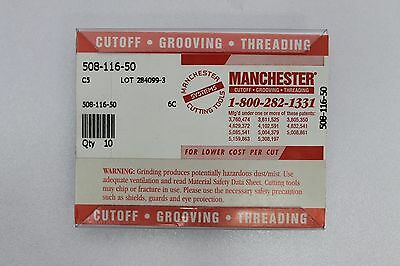Manchester 508-116-50 C5 Carbide Insert 10 Pack