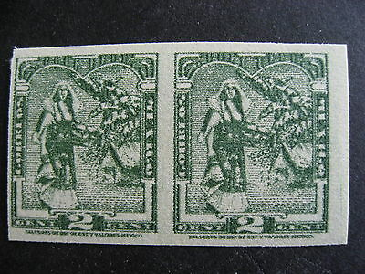 MEXICO 730a MNH imperf pair nice stamps, check them out!