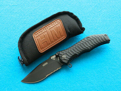 HTM Gun Hammer Tactical Folding Knife! Spring Assisted Flipper w/ CTS-XHP Blade!