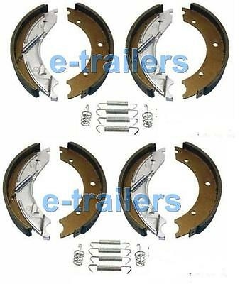 PAIR TRAILER BRAKE SHOES 200x50 KNOTT TYPE AXLE SET FITS Ifor Williams (2X SETS)