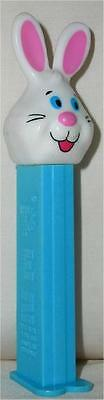 White Bunny ~ Pez Dispenser W/ Candy ~ Loose~ Cheap Shipping