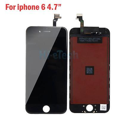 Replacement LCD Display Touch Screen Digitizer Assembly for Iphone 6 4.7 Black A