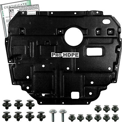 TOYOTA Auris / Corolla (06-12)  UNDER ENGINE COVER  new  HDPE + CLIPS A++++++