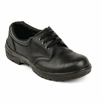 Slipbuster Unisex Safety Shoes Men Women Uniform Work Black Anti Static Sole