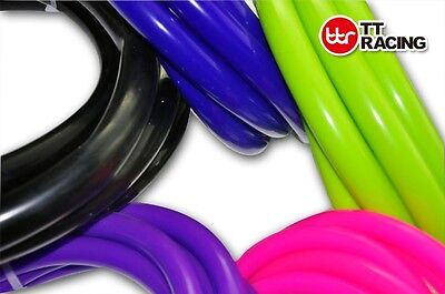 Silicone Vacuum Hose Tube Tubing Turbo Dump for Air /Water Lime Pink Black Blue