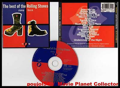 "THE ROLLING STONES ""Jump Back - The Best Of 71-93"" (CD) 1993"