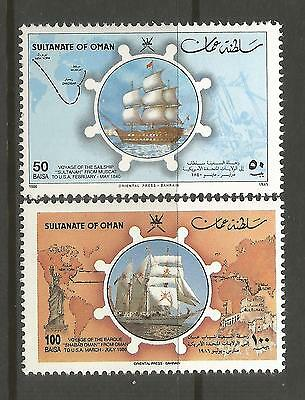 OMAN. 1986. Statue of Liberty Centenary Set. SG: 323/34. Mint Never Hinged.