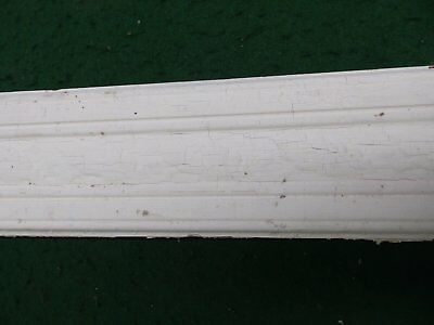 Antique Pine Fluted Moulding Door Window Casing Decorative Carved Leaf 4560-15