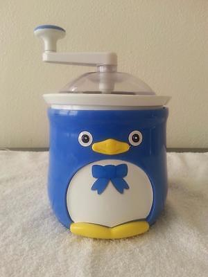 "DONVIER ""CHILLY"" PENGUIN-One 1 Pint Ice Cream Maker with Original Box-Model 18"