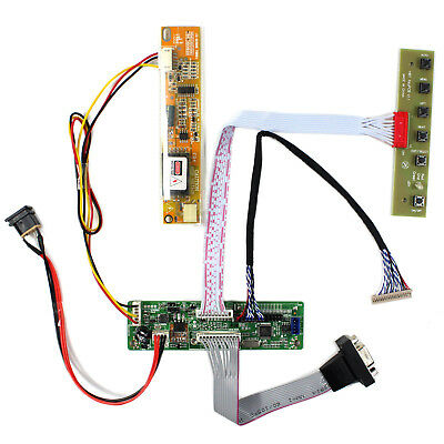 """VGA LCD Controller Board Work For 10.1""""~22"""" LVDS Interface LCD Screen"""