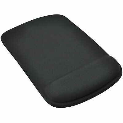 Black Mouse Mat/Pad Ergonomic Comfort Pad Computer PC Accessories Square