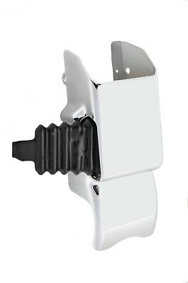 steering column cover center middle with boot chrome plastic for Kenworth column