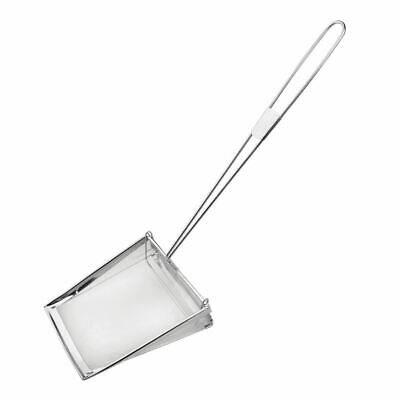 Vogue Fat Skimmer 8In Stainless Steel Mesh Fryer Spatula Sieve Kitchen Utensil