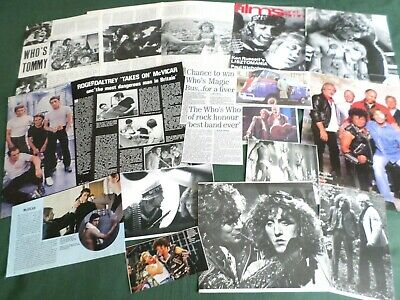 Roger Daltrey - Music /film Star  - Clippings /cuttings Pack