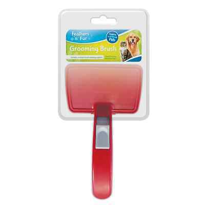 Self Cleaning Dog Puppy Cat Kitten Hair Brush Comb Groom Clean Hair Pet Care