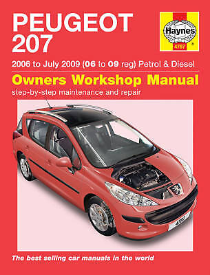 Peugeot 207 Petrol Diesel 06-09 Haynes Manual 4787 NEW
