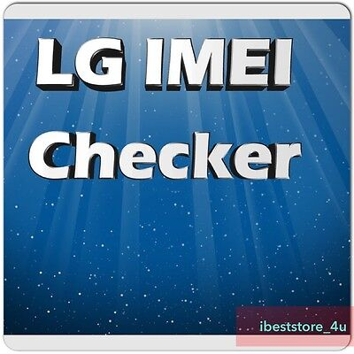 Check LG info by IMEI (carrier, model, country, warranty) Carrier check for LG