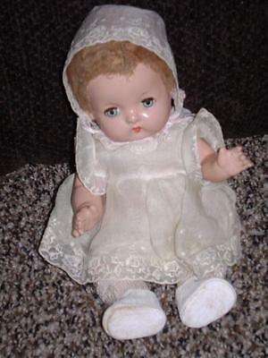 Vintage RARE 1931 Effanbee Patsy Babyette Doll -Eyes Beautiful Clear Blue & Work