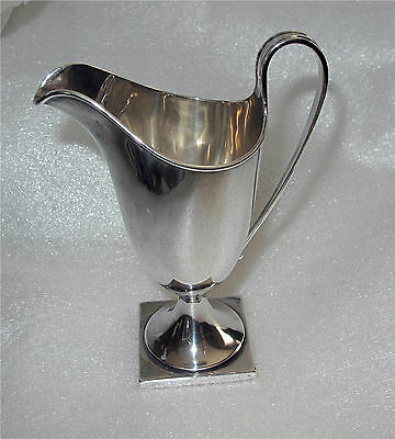 1886 Victorian Sterling Silver Helmet Shaped Cream Jug, Chester