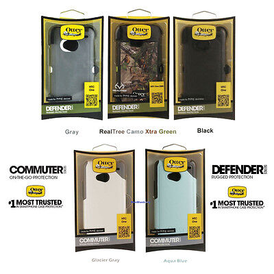 New Otterbox Defender / Commuter Case For HTC One M7 Tough Hard Case Hybrid