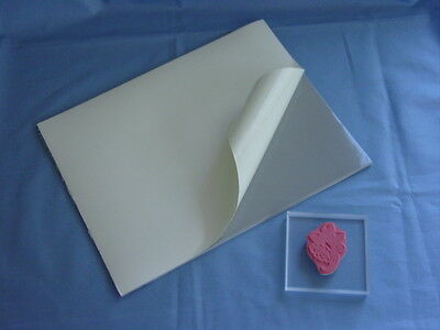 2 Sheets EZ Mount Cling Cushion for Unmounted Stamps
