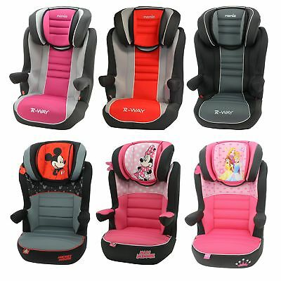 Nania R - Way Disney Child High Back Booster Car Seat - Group 2/3  4 - 12 Years