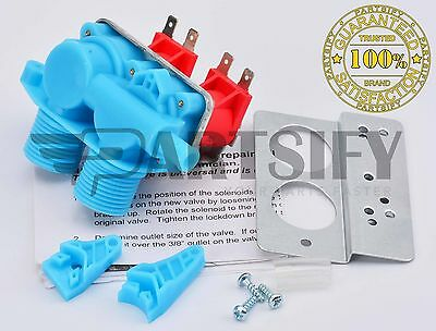 New 3360389 Washer Water Inlet Valve Fits Whirlpool, Kenmore, Roper, Sears