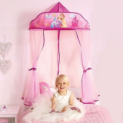 Disney Princess Hanging Bed Canopy New Girls Bedroom