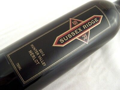 2012 SUSSEX RIDGE Hunter Valley Merlot Isle of Wine