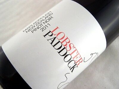 2011 LOBSTER PADDOCK NZ Pinot Noir Isle of Wine