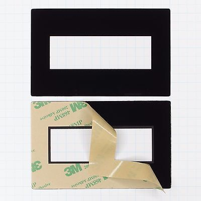 Faceplate Mounting Bezel for 4x20 LCD Displays (pkg of 3 Seetron FPL420)