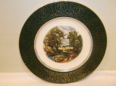 A Homer Laughlin Amsterdam Holland Constable the Cornfield Plate