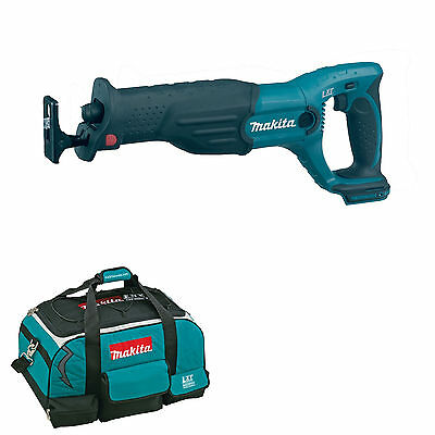 Makita 18V Lxt Djr182 Djr182Z Djr182Rfe Reciprocating Saw And 4 Piece Bag