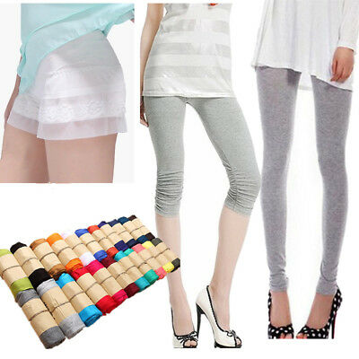 NEW Fashion Women's Sexy Stretchy Skinny Cotton High Waist Leggings Pants
