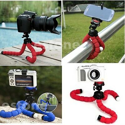 Hot Portable Octopus Flexible Tripod Holder Mount Stand For Camera Mobile Phone