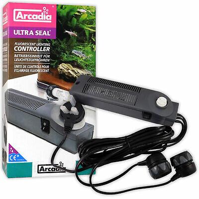 Arcadia Single Fluorescent Ultraseal Light Tube Controller Fish Tank All Sizes