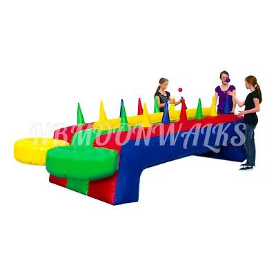 Hot Potato Game Inflatable Bounce Bouncy House Race Water Slide