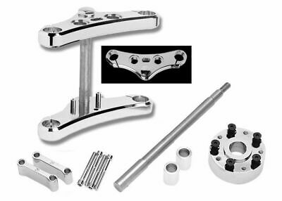 Wide Glide Conversion Kit Accutronix Chrome Triple Tree Harley Sportster 2008-14