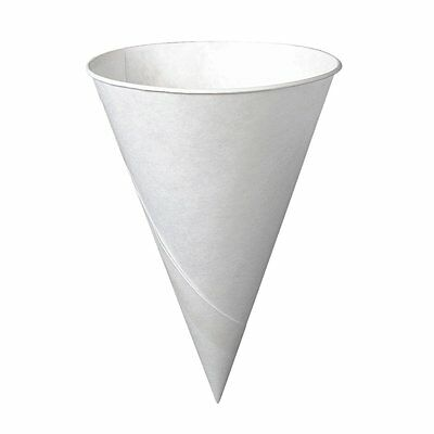 SOLO CUP COMPANY * 200 Per Pack WHITE SNO SNOW CONE / WATER  CUPS (4 oz. )