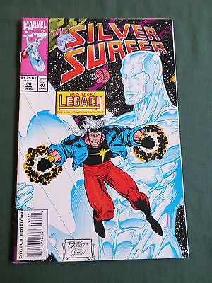 The Silver Surfer - Marvel Comic-Usa  - Mar 1994 - Vol 3 #90   - Vg