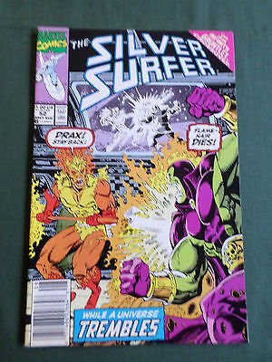 The Silver Surfer - Marvel Comic-Usa  -Aug 1991 - Vol 3  #52   - Vg