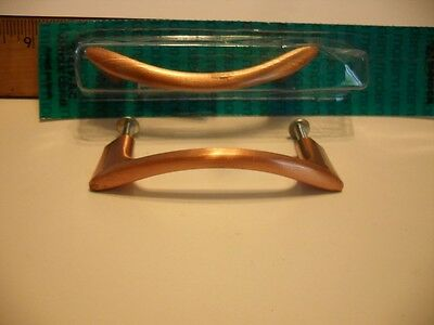 Vintage NOS Antique COPPER Plated Drawer or Cabinet Door Pulls Handles Amerock