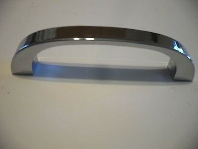 Vintage Heavy Weight CHROME Drawer or Cabinet Door Pull Art Deco Solid Handle