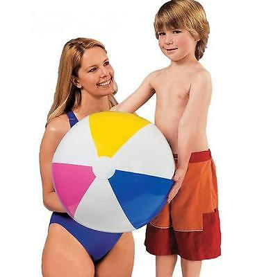 2015 Inflatable Blowup Panel Beach Ball  Holiday Party Swimming Garden Toy HO CA