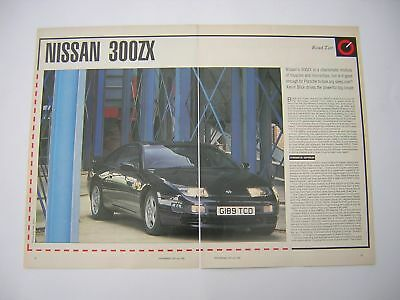 Nissan 300ZX Road Test from 1990 - Original - 300 ZX