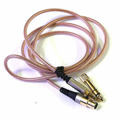 OFC Replacement upgrade Cable For AKG Q701 K702 K267 K712 Reloop RHP20 headphone