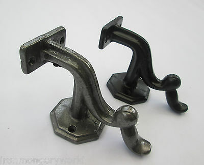 "3"" Solid Cast Iron Stair Bannister Support Hand Rail Rod Handrail Bracket"