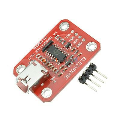 FM Radio Transmitter Module V2.0 For Build Your Own Radio Station New