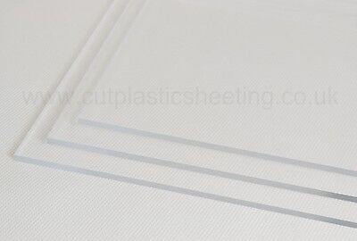 Clear Acrylic Perspex Plastic Sheets | 2-10mm Thickness | Custom Width & Length